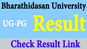 www.bdu.ac.in Result 2021