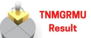 www.tnmgrmu.ac.in 2021